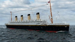 RMS Olympic 1933 Minecraft