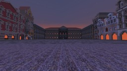 Central European Baroque City + Palace + River + Medieval + Soviet Apartments Minecraft Map & Project