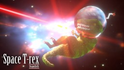 Space T-Rex Minecraft Map & Project