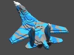 Sukhoi Su-27 (6,5:1) Minecraft