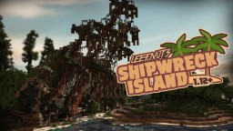 LEEFNUTS SHIPWRECK ISLAND Minecraft Map & Project