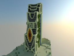 The Lost SkyScraper Minecraft Map & Project