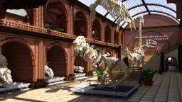Jurassic Cretaceous Museum - A Dinosaur Fossil Museum! Minecraft