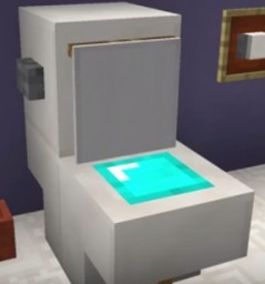 Real Flushing Toilet (Only Redstone!) (No Commands!) Minecraft Map & Project