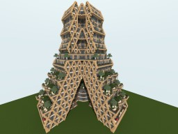 Ecological Skyscraper Minecraft Map & Project