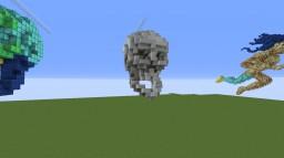 Skull Minecraft Map & Project