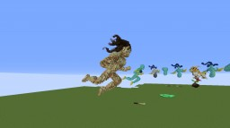 Flying Human Minecraft Map & Project