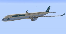 F'n'A Gaming Airbus A350-1000 Cathay Pacific Minecraft Map & Project