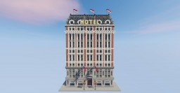 Small Beaux Arts Hotel skyscraper Minecraft