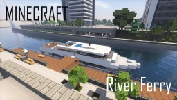 Minecraft River Ferry (full interior) Minecraft Map & Project