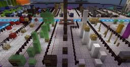 Jump N Run Platform Game Minecraft Map & Project