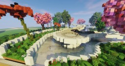 Flower Park Minecraft Map & Project