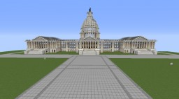 US Capitol (With Inaugural Designs) Minecraft Map & Project