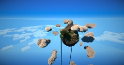 Floating Island In The Clouds Minecraft Map & Project