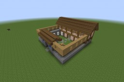 Age of Empires II Barracks Minecraft Map & Project