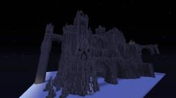 Mountain castle (work in progress) Minecraft