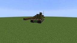 Leopard 2A7+ (Main Battle Tank) Minecraft Map & Project
