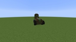 Strv fm/21 (Light Tank) Minecraft Map & Project