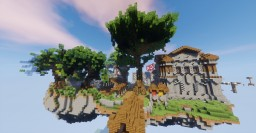 Provanas Skyblock 1.8 Spawn + Arena + Jail + Market Minecraft Map & Project