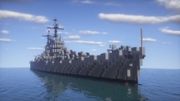 Worcester-Class Light Cruiser | 1:1 Scale Minecraft Map & Project