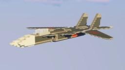 "Sukhoi SU-47 ""Berkut"" Minecraft"
