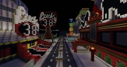Fallout New Vegas Strip Minecraft Map & Project