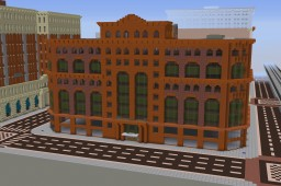 Late 19th Century High-rise (Exterior): The Fairmont Project Minecraft Map & Project
