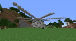 SIkorsky Ch-53 Sea Stallion Heavy-Lift Helicopter Minecraft Map & Project