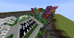Mini-City + Airport Minecraft Map & Project