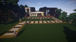 MODERN HOUSE IN THE WOODS Minecraft