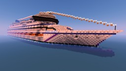 Serenity Delight Luxury Cruise Ship Minecraft Map & Project