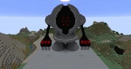 3D Registeel Pixelart Minecraft Map & Project