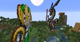 Regigigas vs Rayquaza Minecraft Map & Project