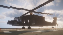 BlackHawk Helicopter Minecraft Map & Project