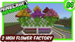 """2 High Flower Factory"" [84] Minecraft Bedrock Infiniverse Minecraft Map & Project"