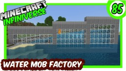 """""""Drowned, Dolphin, Fish & Squid Factory"""" [85] Minecraft Bedrock Infiniverse Minecraft Map & Project"""