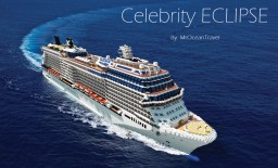 Celebrity Eclipse - Cruise Ship Replica [Full-Interior][+Download] Minecraft Map & Project