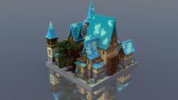 Railed Survival Spawn   By Whitecroft & TheBiome Minecraft