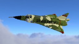F-102 Delta Dagger (feat. Theo92160_) Minecraft Map & Project