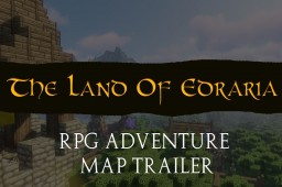 The Land Of Edraria - MASSIVE RPG ADVENTURE MAP - Trailer AVAILABLE NOW Minecraft Map & Project