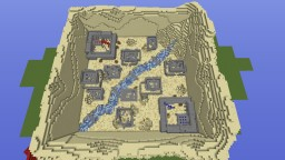 Desert Show Down Paintball map Minecraft Map & Project