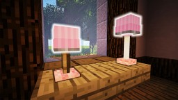 Minecraft - How To Make A Desk Lamp | 70 Designs Minecraft Map & Project