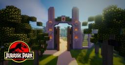 Jurassic Park Map (4.0) Minecraft
