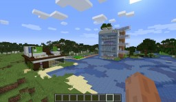 TWO MODERN HOUSES Minecraft Map & Project