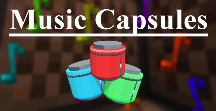 Popular Mod : Music Capsules [1.13.x data pack]