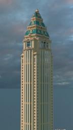 THE WARLDOF GRAND HOTEL (ART DECO SKYSCRAPER) Minecraft