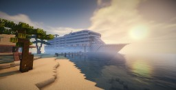 Cruise Ship Minecraft Map & Project