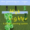 Highlighter: A danger warning system (WIP) Minecraft Mod