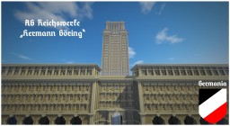"+ Germania + AG Reichswerke ""Hermann Göring"" Administration Building Minecraft Map & Project"