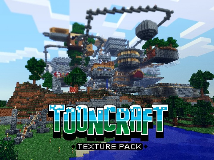 Popular Texture Pack : ToonCraft UpToDate (1.13)
